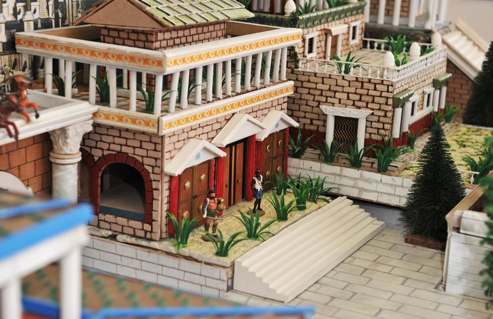 La Civiltà di Roma - La Domus | Civica Galleria Figurino Storico