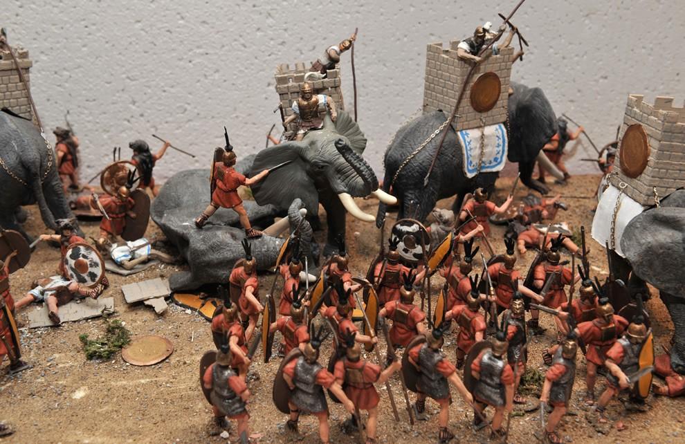 La Civiltà di Roma - l'Esercito romano | Civica Galleria Figurino Storico