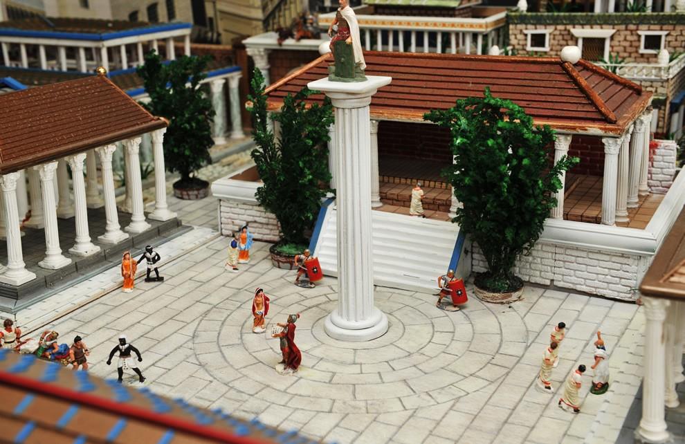 La Civiltà di Roma - Il Foro | Civica Galleria Figurino Storico