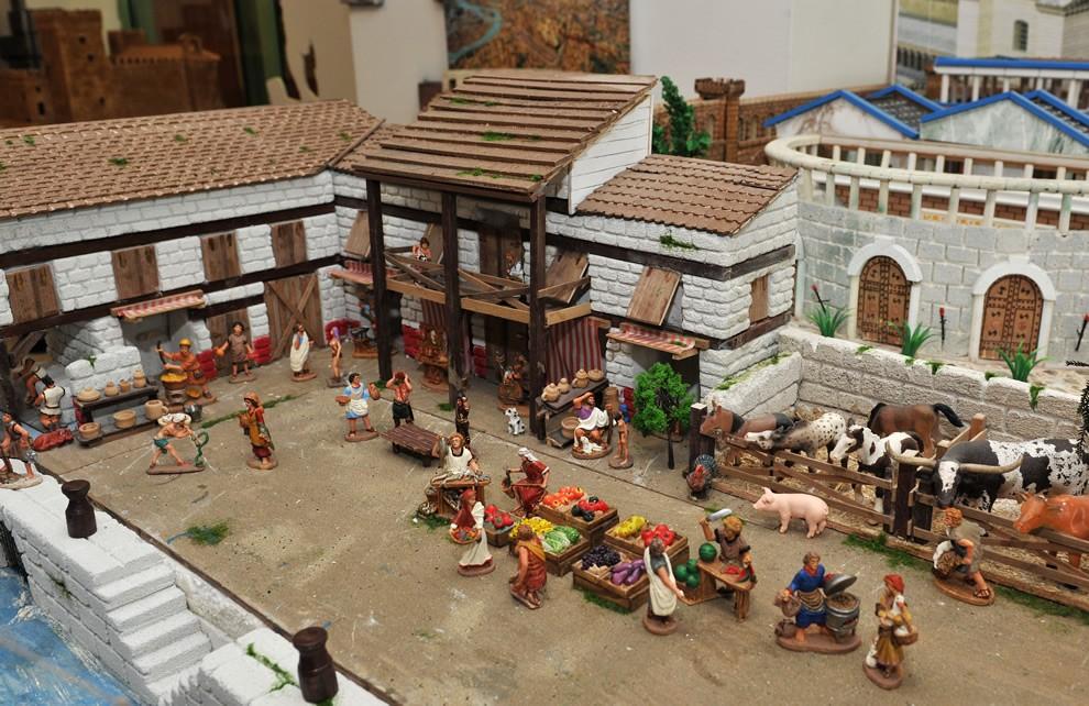 Percorso espositivo la civilt di roma for Piani storici per la seconda casa dell impero