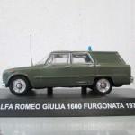 200° Anniversario dell'Arma dei Carabinieri - Alfa Romeo Giulia | Civica Galleria Figurino Storico