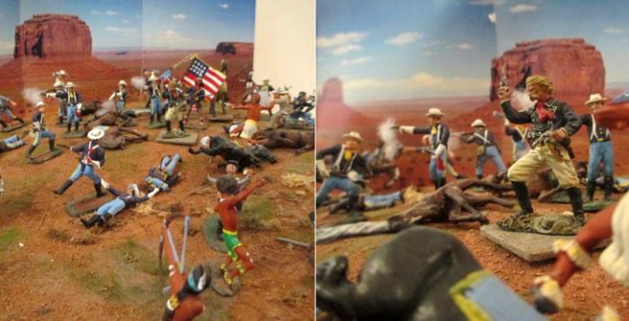 Espansione USA e Sterminio degli Indiani   Civica Galleria Figurino Storico