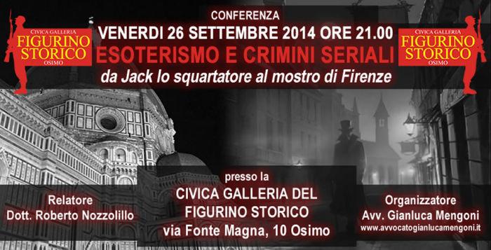 Esoterismi e Crimini Seriali | Civica Galleria del Figurino Storico