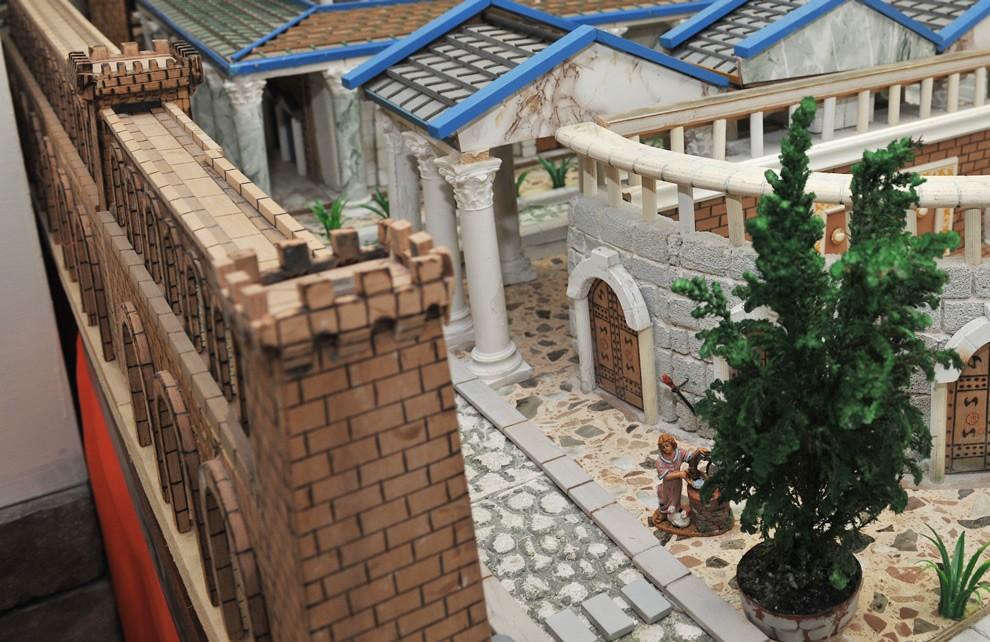 La Civiltà di Roma - Gli acquedotti | Civica Galleria Figurino Storico