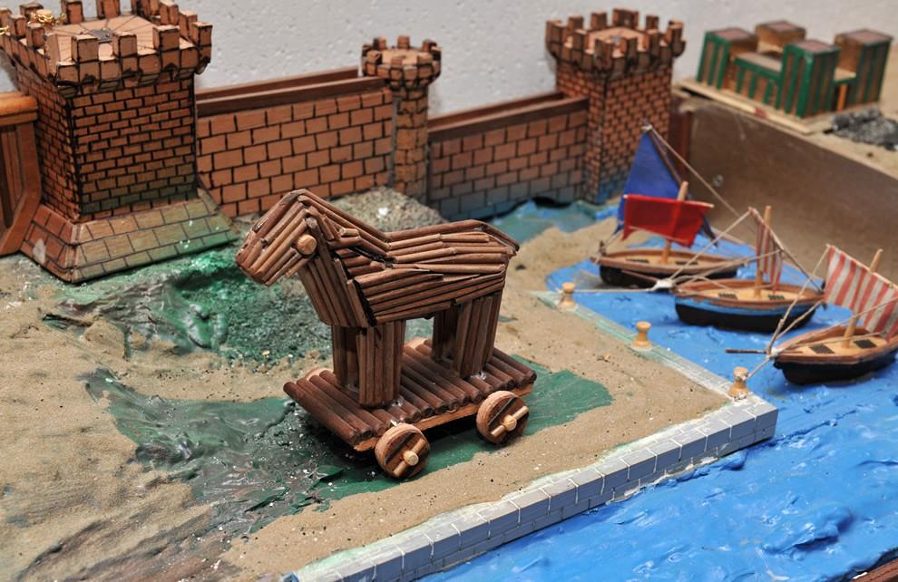 La Guerra di Troia   Civica Galleria Figurino Storico
