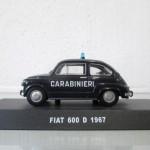 200° Anniversario dell'Arma dei Carabinieri - Fiat 600 | Civica Galleria Figurino Storico