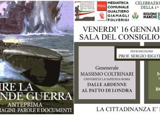 """Conferenza """"Capire la Grande Guerra""""   Civica Galleria del FIgurino Storico"""