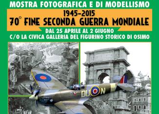 Mostra fotografica e di Modellismo 70° Fine della IIa Guerra Mondiale   Civica Galleria del Figurino Storico