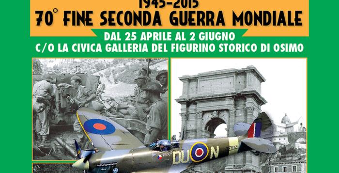 Mostra fotografica e di Modellismo 70° Fine della IIa Guerra Mondiale | Civica Galleria del Figurino Storico