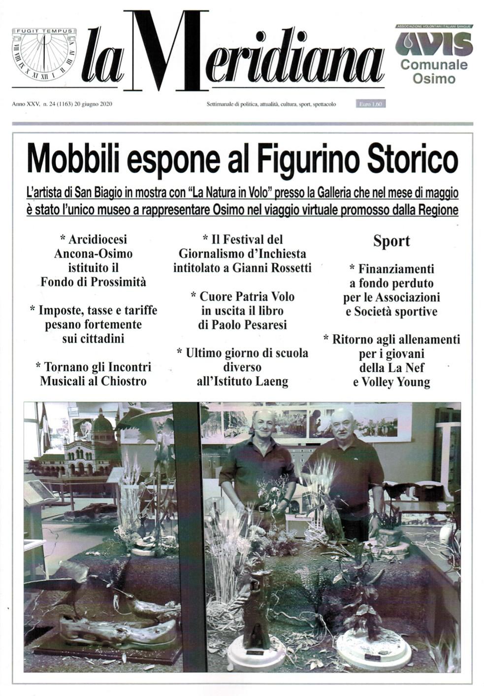 La Meridiana - Mobbili espone al Figurino Storico | Civica Galleria del Figurino Storico