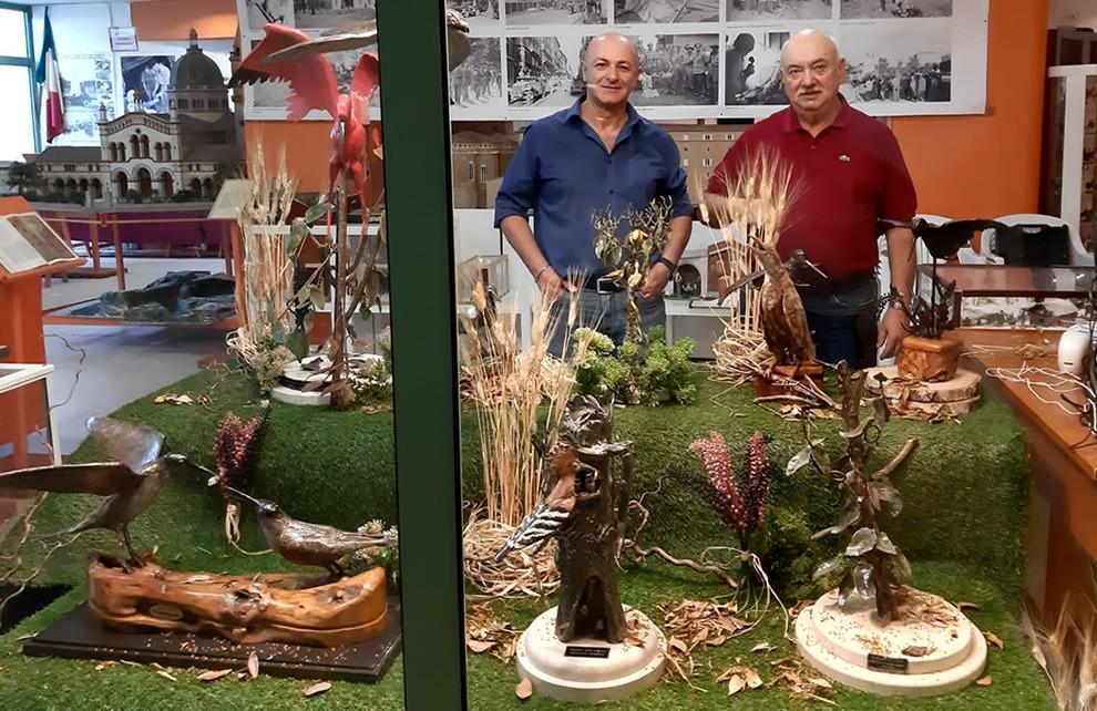 Lo scultore Ermanno Mobbili espone alla Civica Galleria di Osimo!