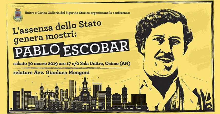 L'assenza dello Stato genera mostri: Pablo Escobar | Civica Galleria del Figurino Storico