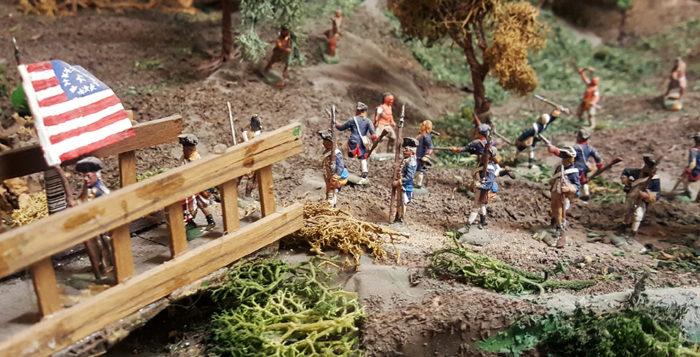 Nascita degli Stati Uniti d'America | Civica Galleria Figurino Storico
